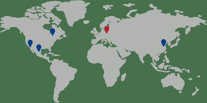 Lokalizacja firmy Phillips Poland na mapie województwa łódzkiego