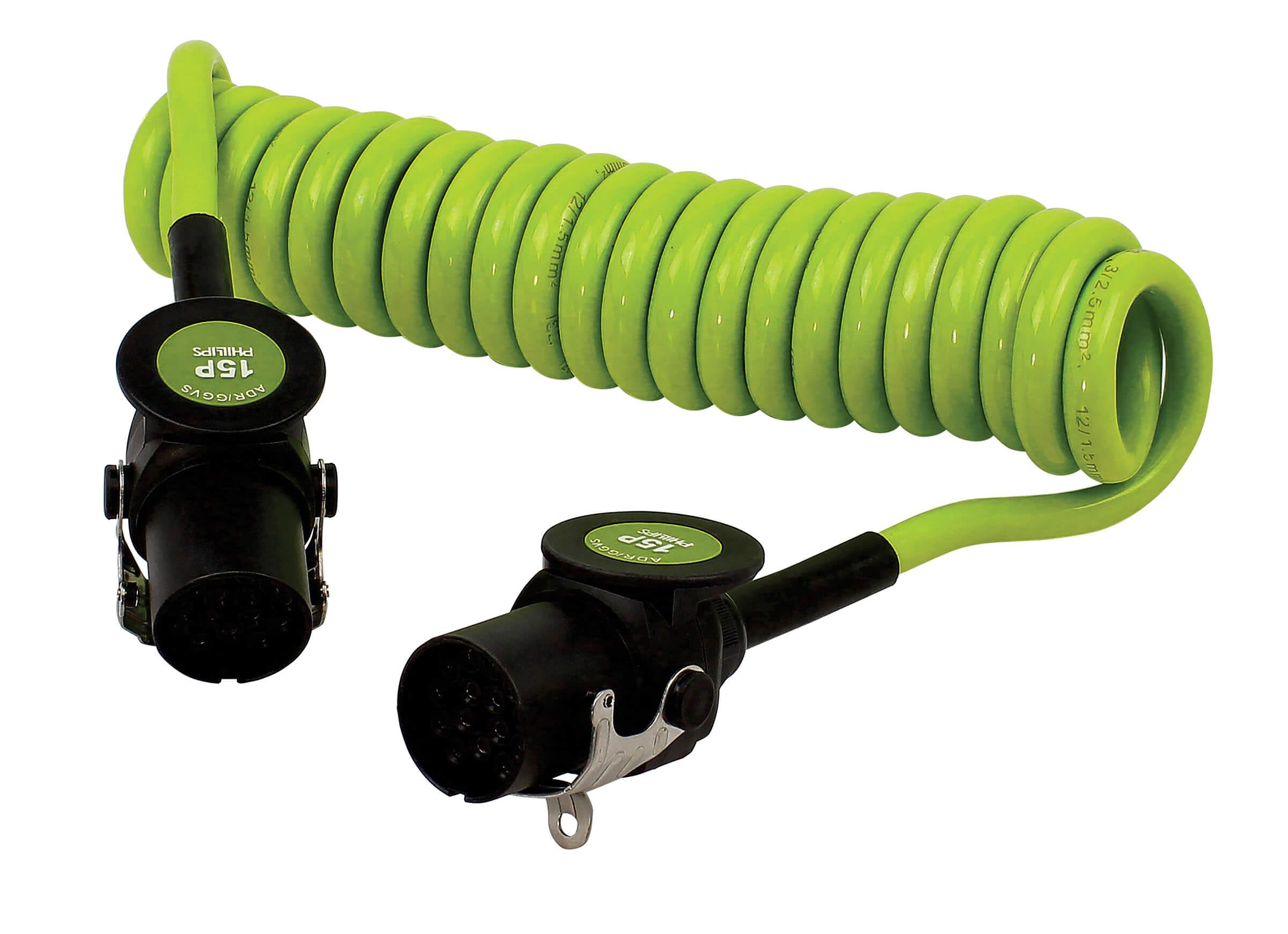 Złącze spiralne 15-Pin LECTRACOIL™