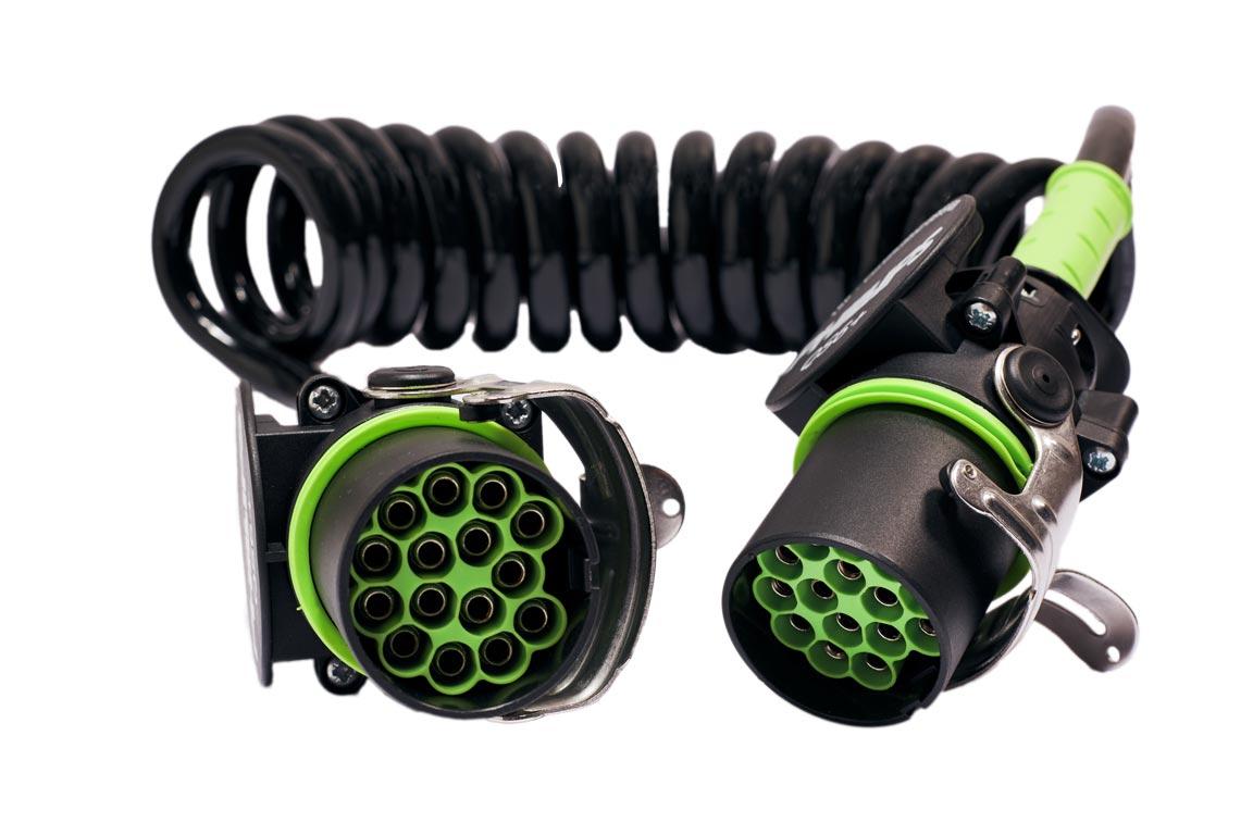 Złącze spiralne 15 Pin QS6+