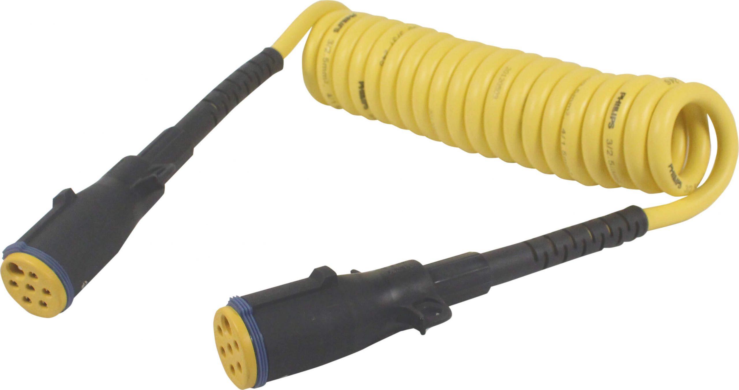Złącze spiralne 7-Pin typ S PERMACOIL™ - OEM