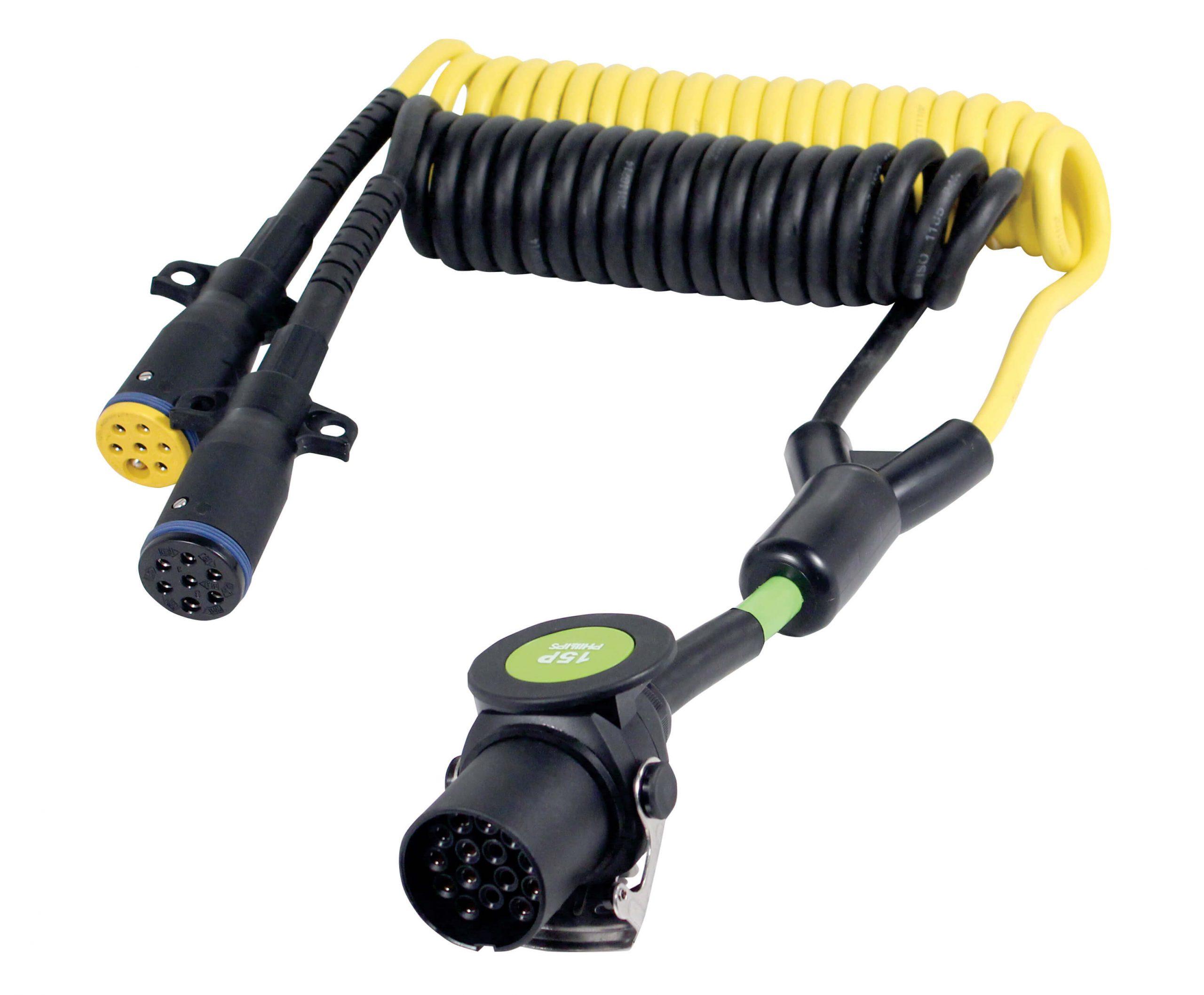 Adapter PERMACOIL™15-Pin / 7-Pin