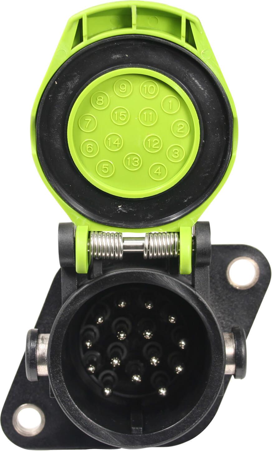 Gniazdo 15-Pin z przewodem QCS®STA-DRY® PERMAPLUG™