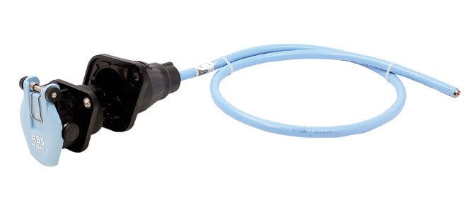 Gniazdo ABS z przewodem QCS®STA-DRY® PERMAPLUG™