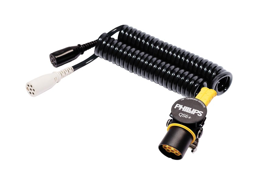 15-polige/7-Pin Adapter Spiral Steckverbinder QS 6+